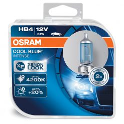 osram cool blue intense HB4 9006CBI