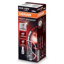 Osram H3 night breaker unlimited 64150