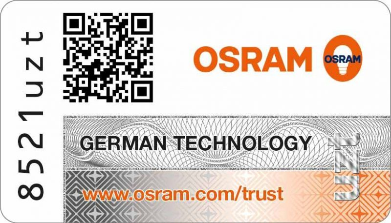 osram trust program