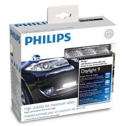 Philips LED denné svetlá 12V 2×3,5W – 9LED- 6000K