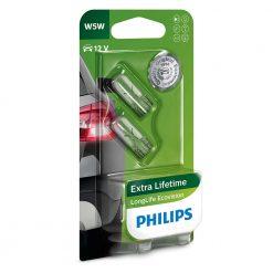 philips W5W ecovision longlife