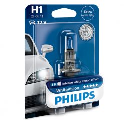 philips H1 white vision 12258WH