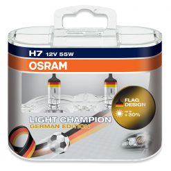 Osram H7 64210LCG Deutschland edition light champion