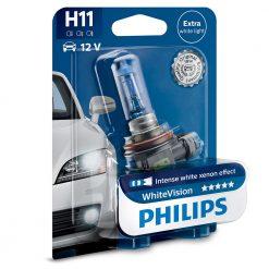 philips H11 white vision 12362WHVB1