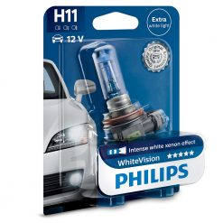 philips H11 white vision 12362WHVB1