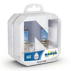 narva H4 range power white