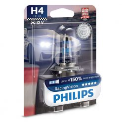 philips H4 racing vision 12342RVB1
