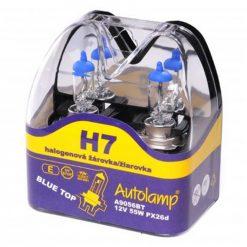 Žiarovka Autolamp BlueTop H7 12V 55W