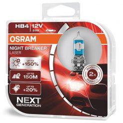 osram night breaker laser HB4 9006NL-HCB