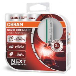 osram xenarc night breaker laser D3S 66340XNL-HCB