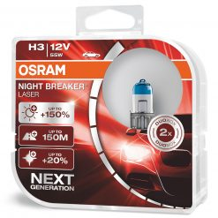 osram night breaker laser H3