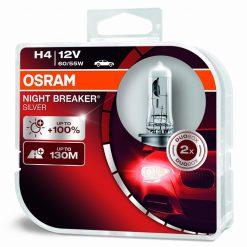 osram night breaker silver H4 64193NBS