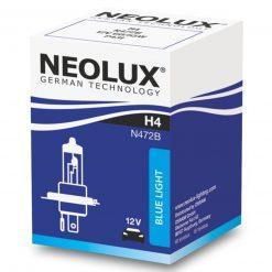 neolux blue light h4 12v 60w n472b 1ks