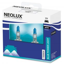 neolux blue power light n448hc 2scb h1 12v 80w duo box