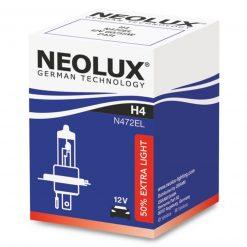 neolux extra light 50 h4 12v 60w n472el 1ks