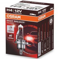 osram night breaker silver h4 100 2ksbalenie