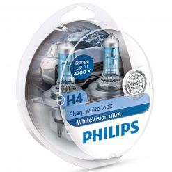 philips h4 whitevision ultra 60 2ksbalenie 2ks w5w
